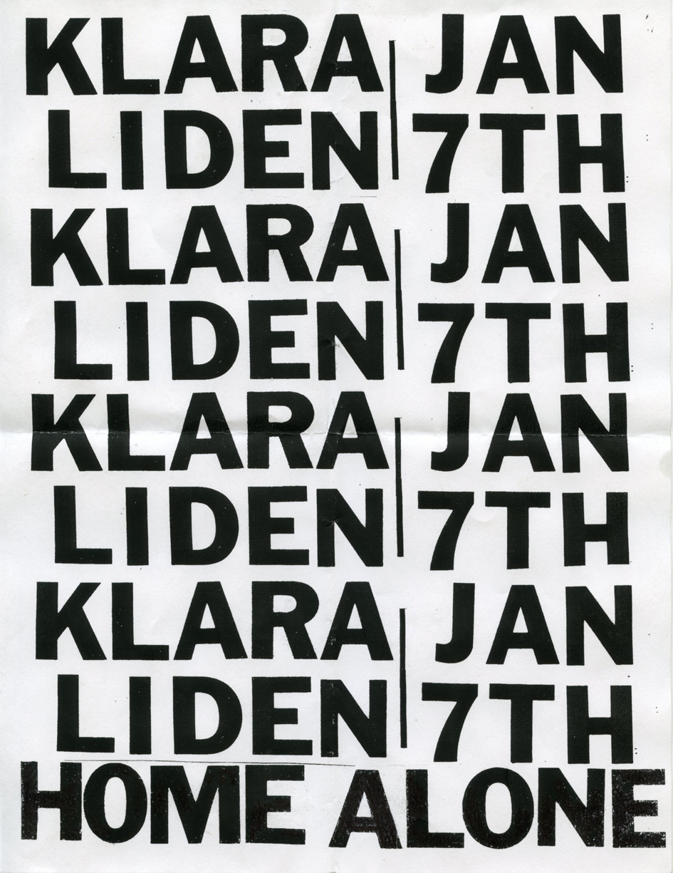 Klara_Liden_Home_Alone