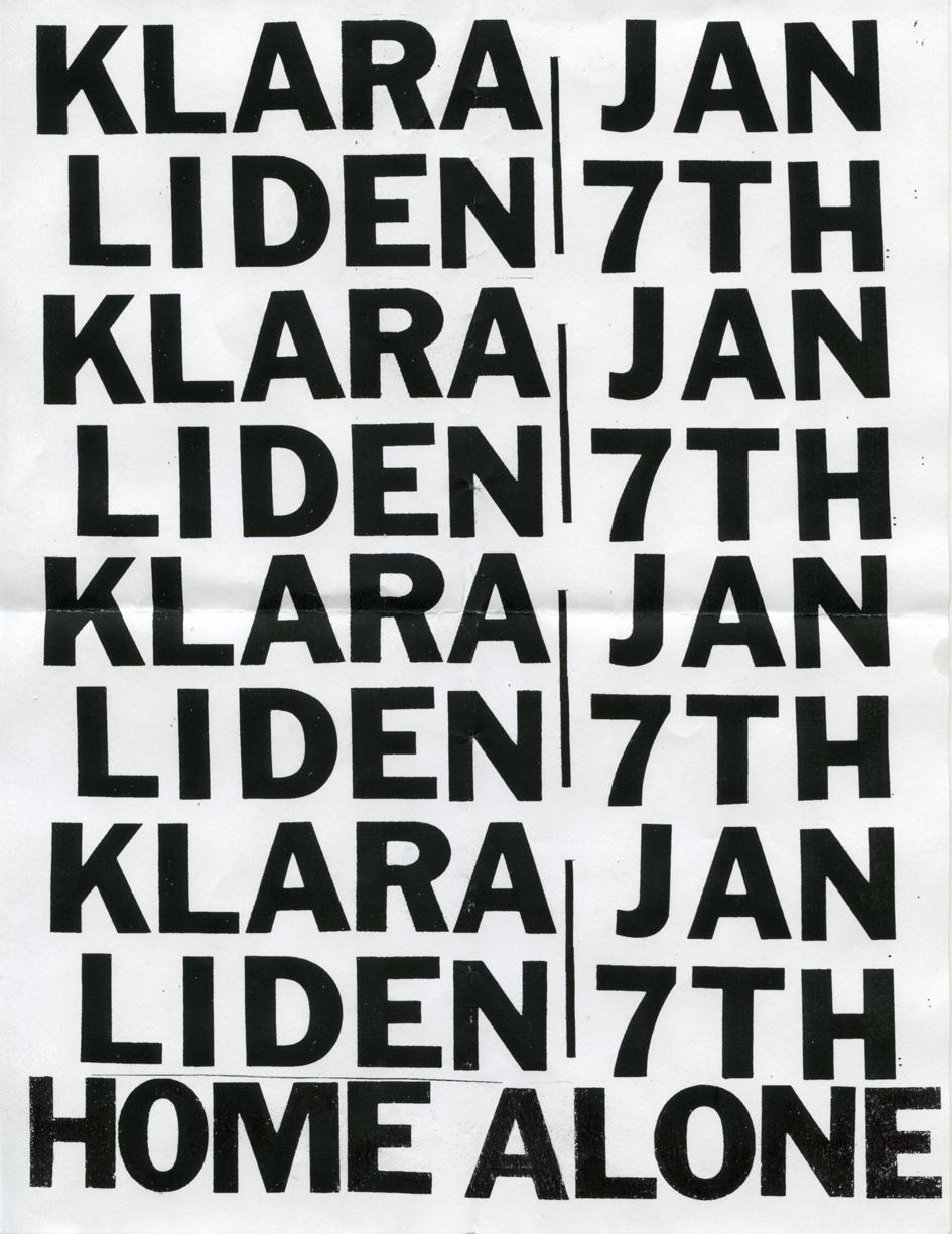 Klara_Liden_Home_Alone